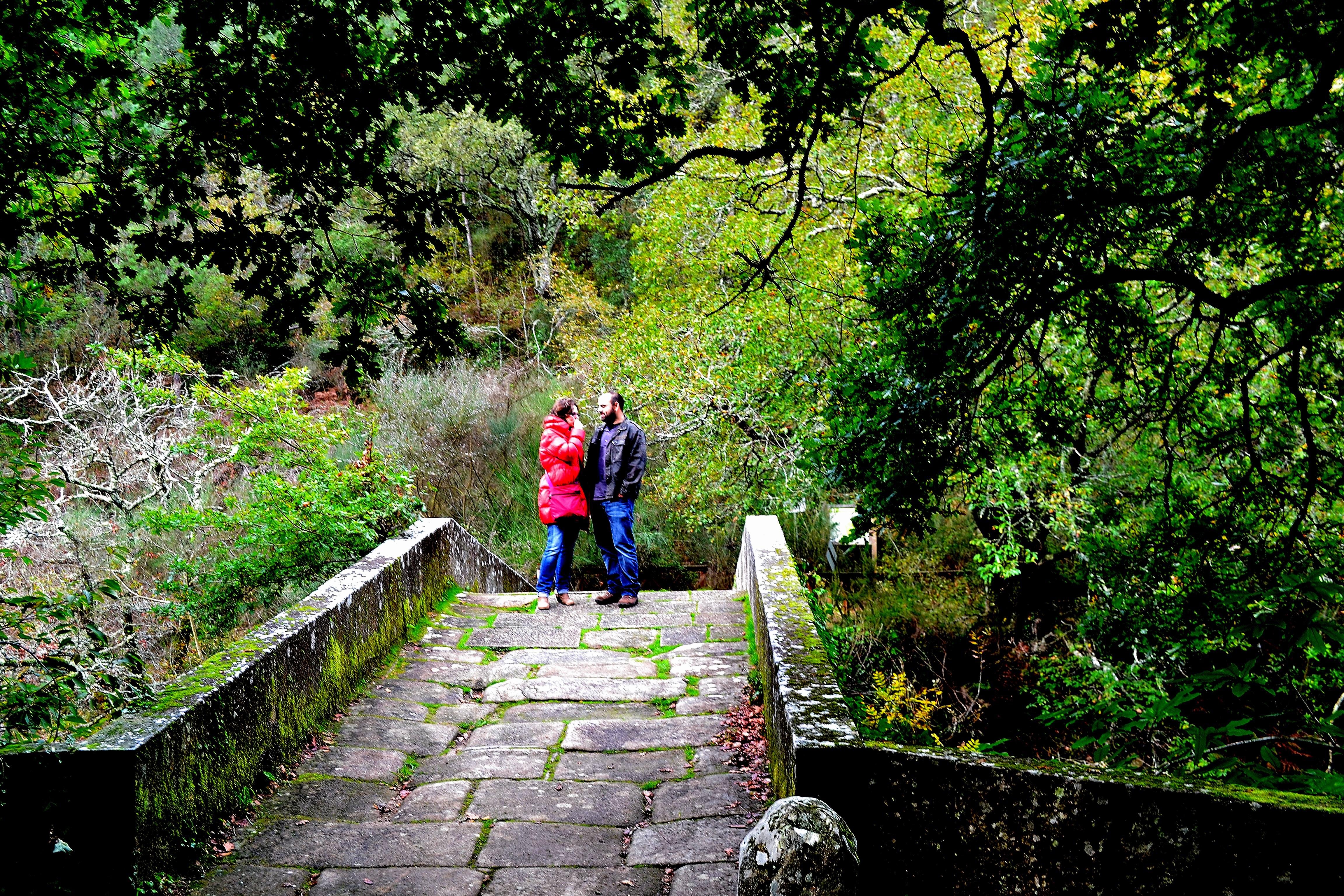 Puente romano, ruta del agua de Caldas
